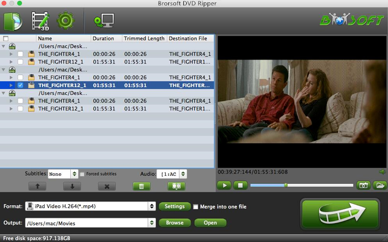 Brorsoft DVD Ripper for Mac 4.8.6.7