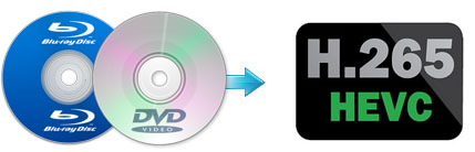 Rip or Backup Blu-ray DVD to H.265