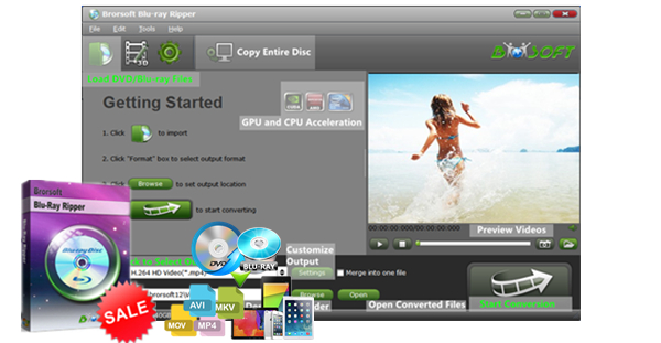 Brorsoft DVD Ripper, Blu-ray Ripper and Blu-ray Video ...