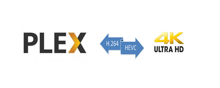 Transcode 4K HEVC to H 264 for Plex
