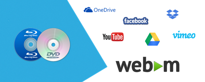 How to Convert Blu-ray/DVD to WebM with Zero Quality Loss? – -Tips