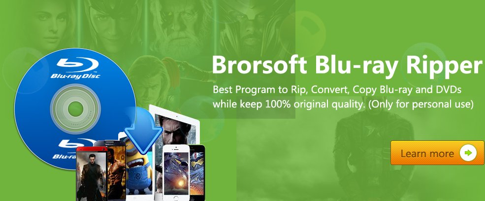 Download Brorsoft Blu-ray Ripper for Mac