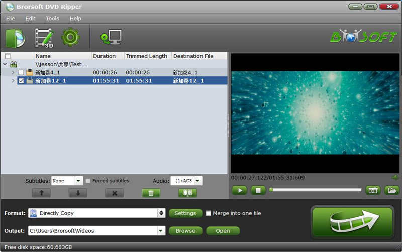 Brorsoft DVD Ripper for 0119;indows 4.9.0.0